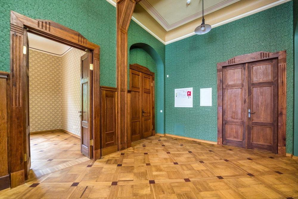Elpojošas Skandināvijas sienas papīra tapetes