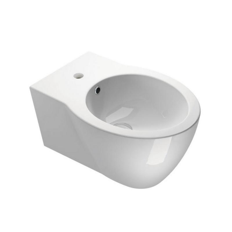 Balts keramikas bidē
