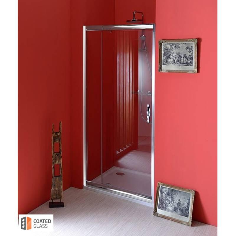 Veramas dušas durvis nišai