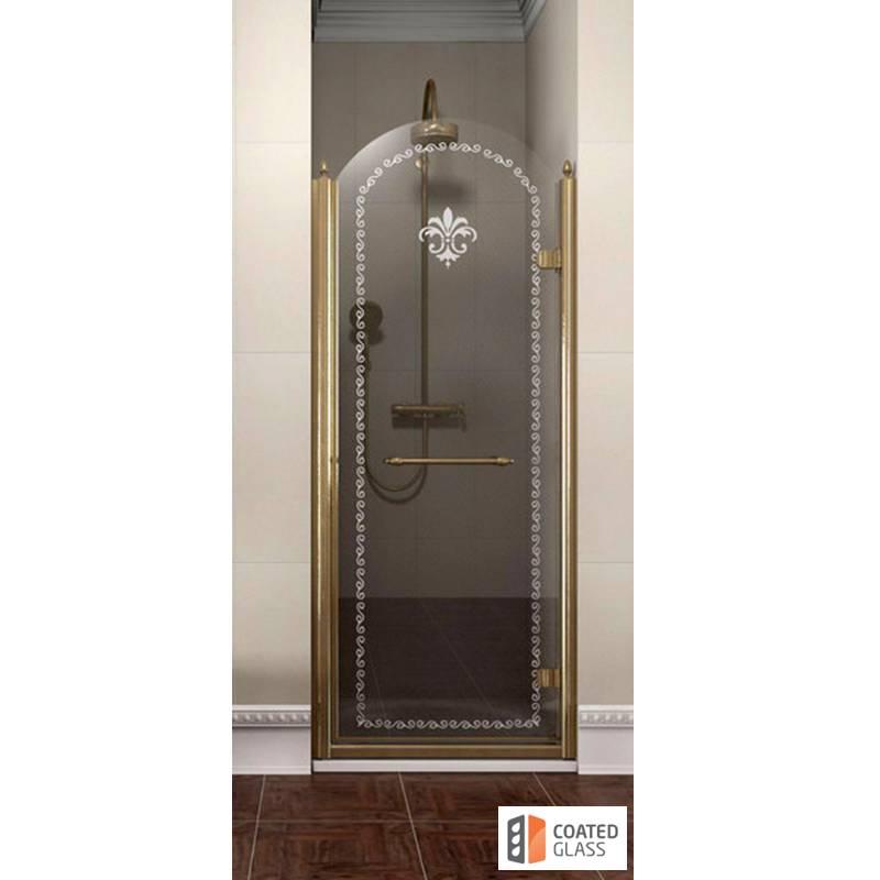 Veramas dušas durvis nišai klasikā stilā