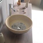 Krāsaina keramikas Itāļu dizaina izlietne