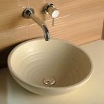 Stilīga krāsaina keramikas dizaina izlietne