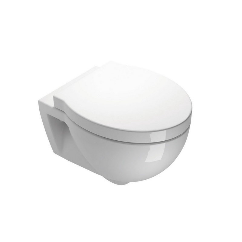Piekaramais WC pods ar soft close vāku