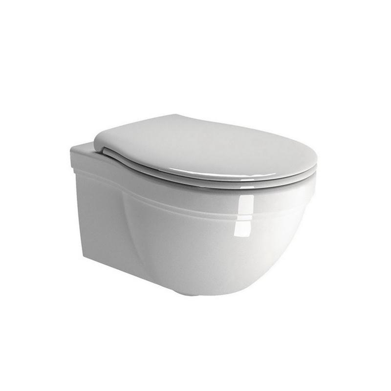 Piekarams WC pods, balts ar vāku